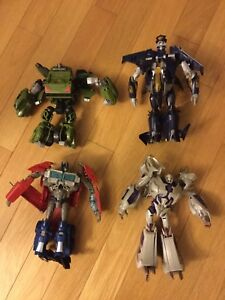 Transformers Robots in Disguise Lot Of 4 Figures
