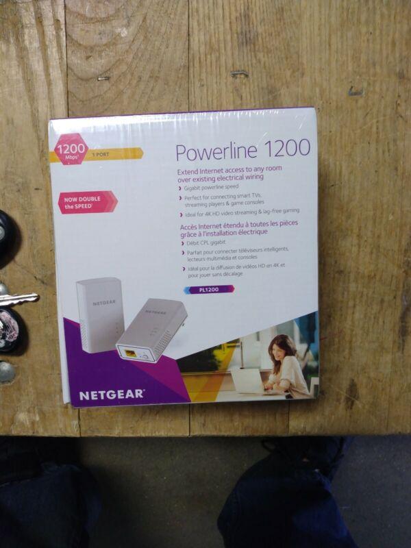 Netgear Powerline 1200 Model PL1200 New Sealed