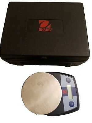 Ohaus Cl5000f Compact Lbs Grams Oz Scale Lightweight Hi-quality W Case Lqqk