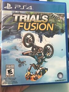 Trials Fusion for PS4 with 6 extra content packs
