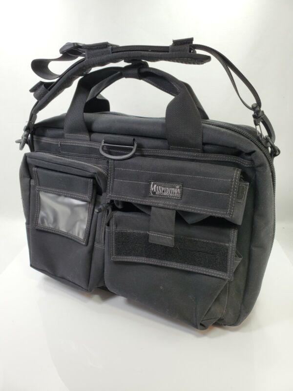 Maxpedition CCW Operator Tactical Attache Black w/Adjustable Shoulder Strap
