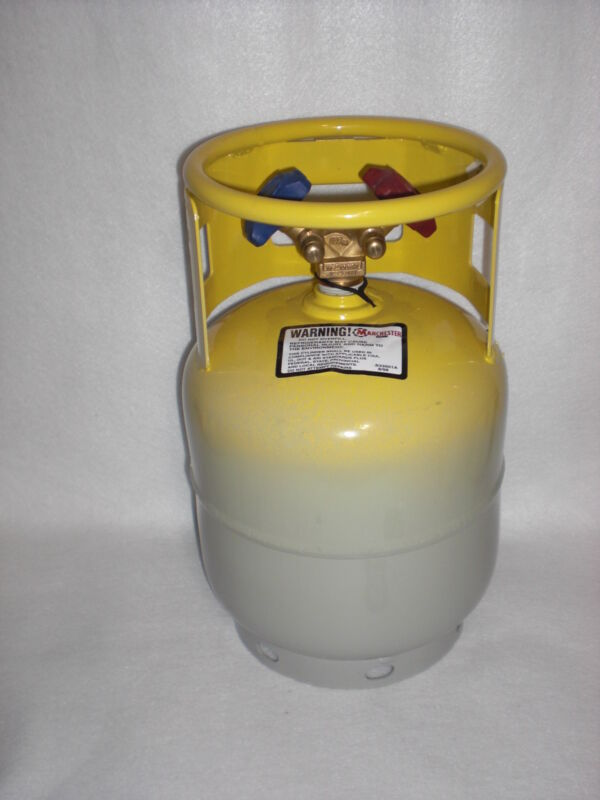 Refrigerant Recovery Tank,Butane recovery 15 lb. NEW, RETEST DATE: 02/2020