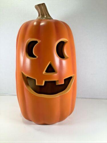 Light Up Plastic Pumpkin Jack O
