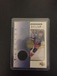 Wayne Gretzky Game Used Hockey Puck Card