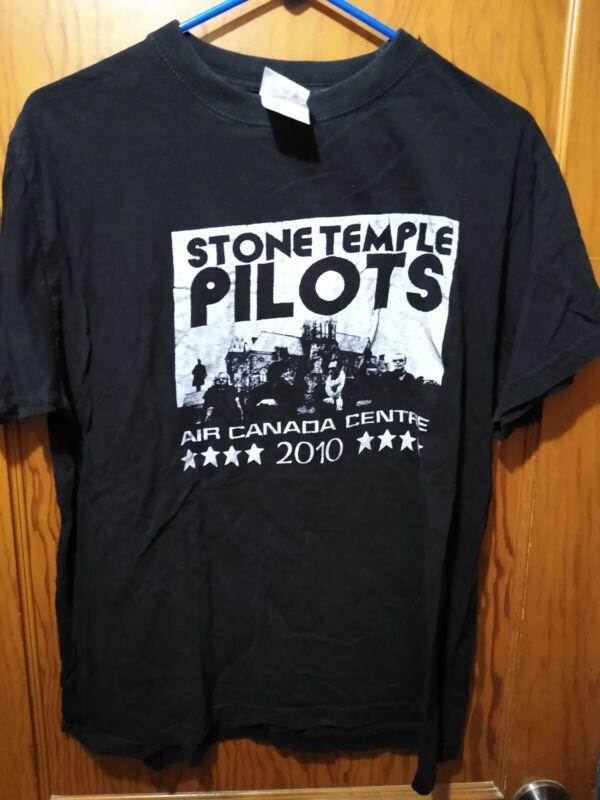 Rare Vtg Stone Temple Pilots 2010 Air Canada Centre Toronto Tour  T- Shirt L
