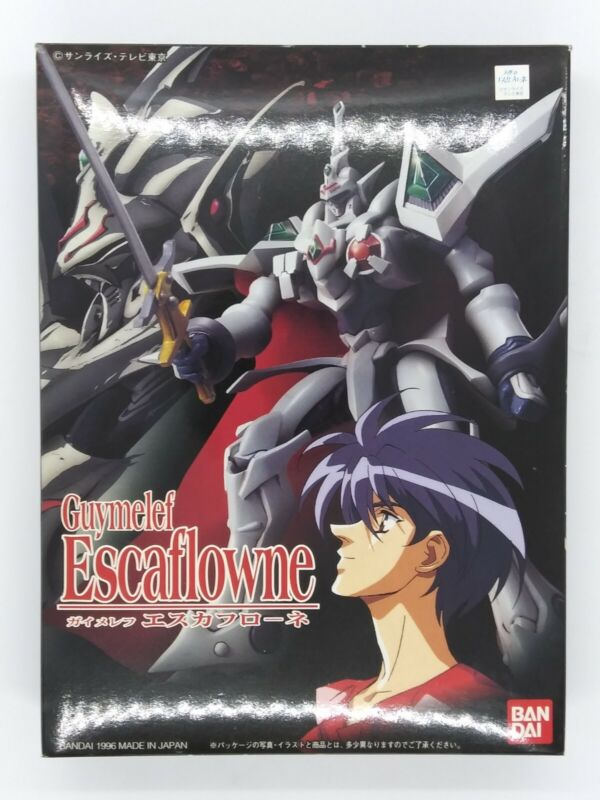 The Vision of Guymelef Escaflowne Figure Model series 005 by Bandai 1996 - RARE