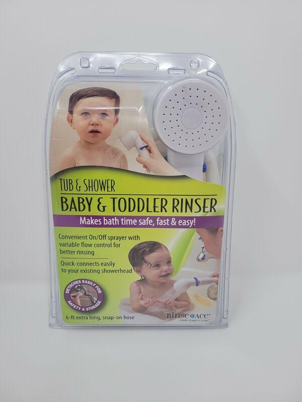 Rinse Ace Detachable Baby & Toddler Rinser Shower Sprayer 6 FT - NIB SHIPS FAST!
