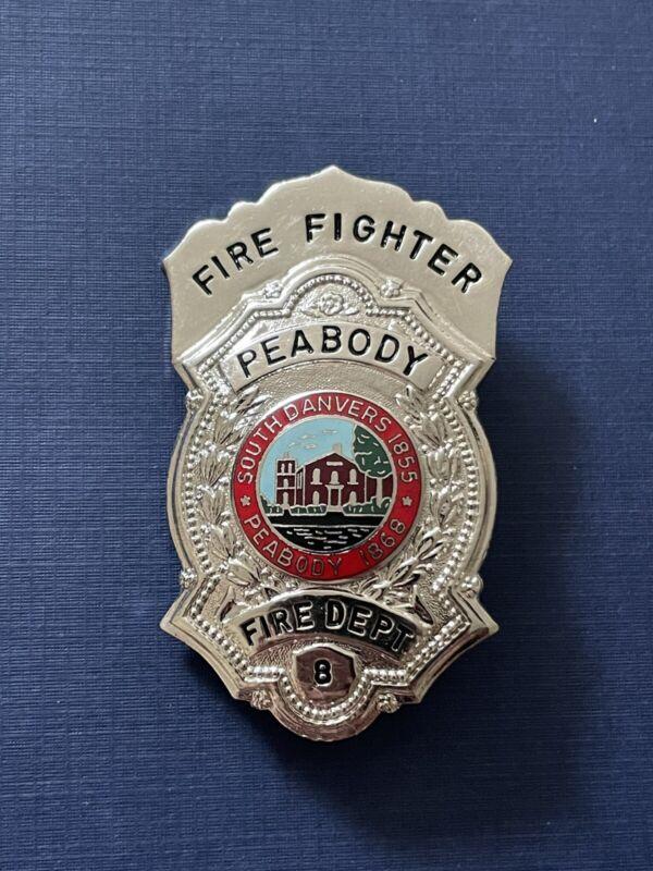 OBSOLETE Peabody Ma Fire Dept Badge massachusetts