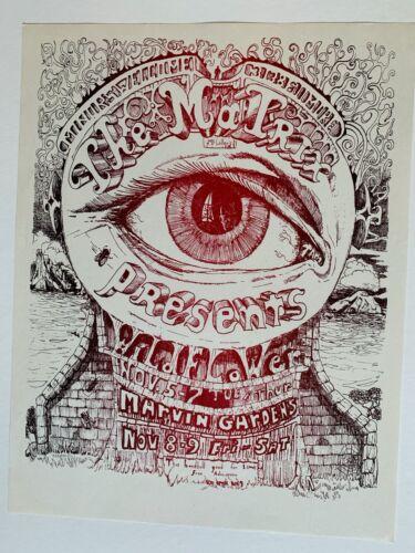 The Matrix presents Wildflower Original Concert Handbill