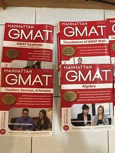 Manhattan GMAT 5Th edition + 2016 official + test sim booklet