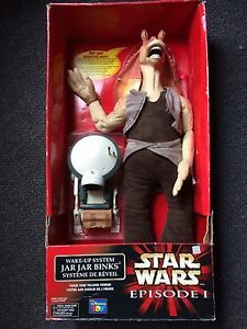 Star Wars Jar Jar Binks Wake Up System