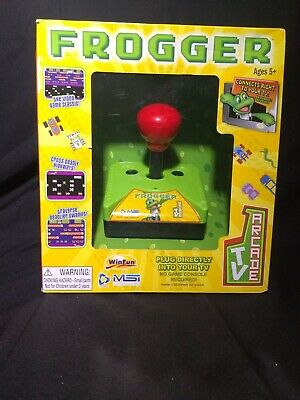Frogger TV Arcade Gaming System Plug and Play Joystick Controller