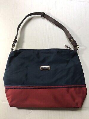 TOMMY HILFIGER Nautical Color Blue Red Purse Hand Bag - Nautical Bag
