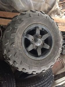 Brute force rims and tires