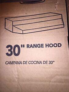 "30"" Hood Range"