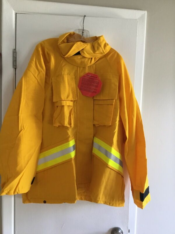 FIREFIGHTER WILDLAND/BRUSH JACKET WITH REFLECTIVE STRIPES 2XL R Barrier Wear