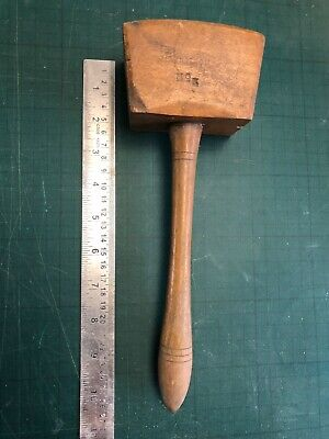 A Vintage Wooden Gavel/Mallet In Nice Condition