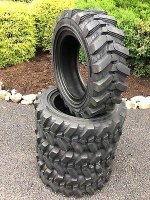 4-27x8.50-15 Hd Skid Steer Tires-27-8.50-15- Camso Sks532 - For Bobcat More
