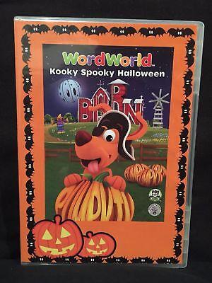 WordWorld: Kooky Spooky Halloween (DVD, 2008)](Word World Spooky Halloween)