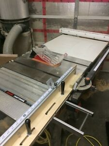 Cast Iron Table Saw with Upgrades
