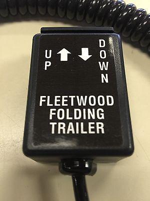 COLEMAN FLEETWOOD POP UP CAMPER POWER LIFT REMOTE 4768-0691 BLACK END