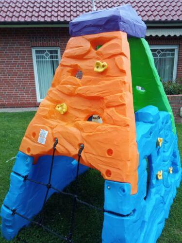 Kletterberg Skyward, Klettergerüst für Kinder Spielgerät Kletterturm Kunststoff