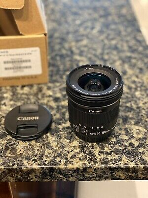 Canon EF-S 10-18mm F/4.5-5.6 IS STM Lens (9519B008AA)