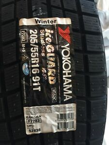 16 inch never used Yokohama winter Ice guard tires