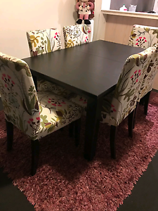 Ikea dining table + 6 ikea chairs Spring Hill Brisbane North East Preview