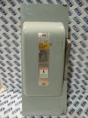 Ite Jn424, 200 Amp, 240 Volt, 3p4w, Fusible, Vintage Disconnect