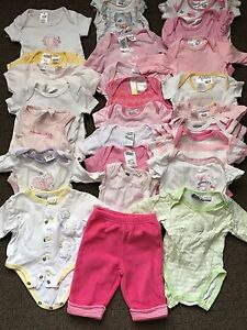 Newborn girl onesies size 0000 Largs Bay Port Adelaide Area Preview