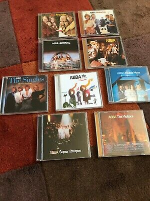 ABBA THE COMPLETE STUDIO CDS