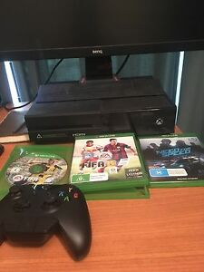Xbox one gaming console controller and games Durack Palmerston Area Preview