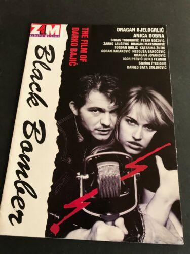 1992 BLACK BOMBER Press Book Yugoslavia Film of Darko Bajic, Serbia Director