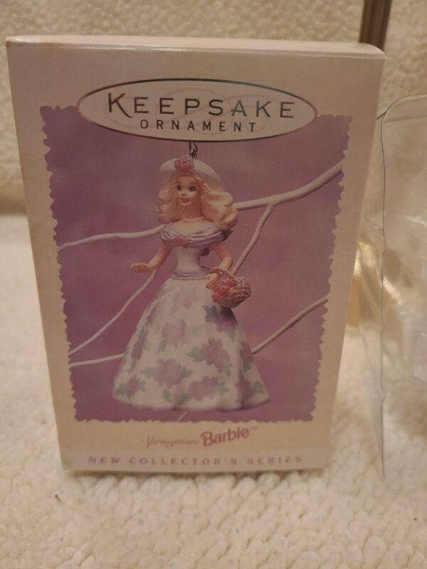 Hallmark Keepsake Ornament 1995 Springtime Barbie