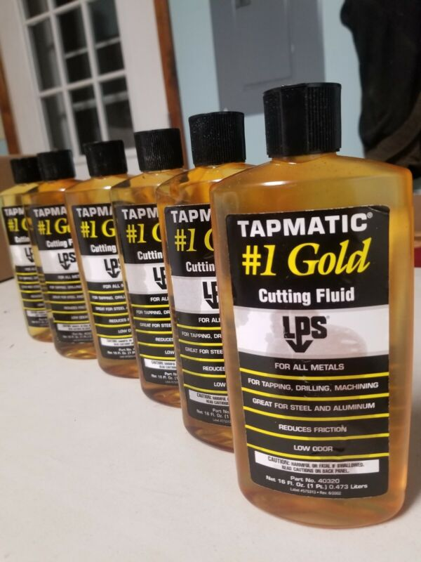 6x Tapmatic Lps Cutting Fluid  #403220