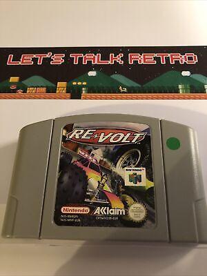 Re Volt Nintendo N64 PAL Cart Only Genuine Tested Re-volt Revolt