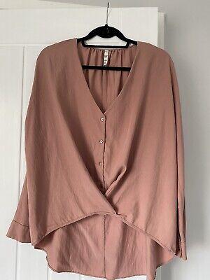 Women's Zara Trafaluc Top In Pink Large
