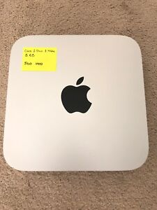 Mac Mini (Core 2 Duo 2.4 / 8 GB / 500 GB HDD