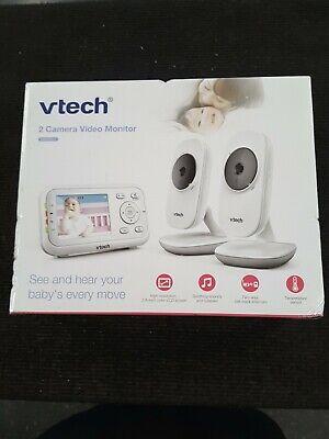 """VTech VM3252-2 2.8"""" Digital Video Baby Monitor with 2 Cameras"""