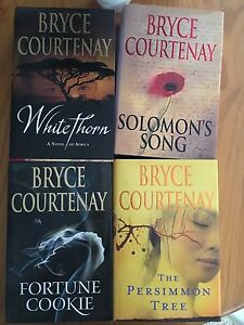 Bryce Courtney Hardcover Books Eden Hill Bassendean Area Preview