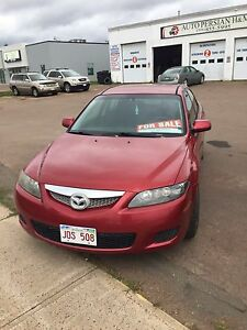 Mazda6 2007  (red) GOOD CONDITION