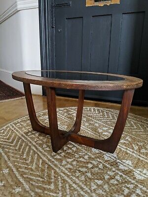 Retro Mid Century Oval Coffee Side Table Astro Gplan Style 1970s DIY project