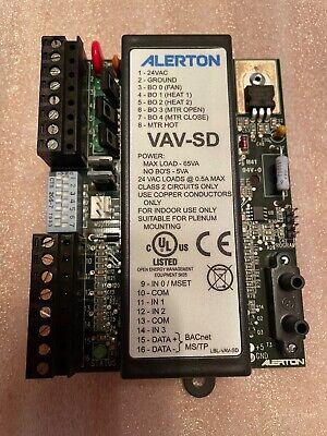 Alerton Control Vav-sd Vav Bas Controller Bacnet New In Box Never Used