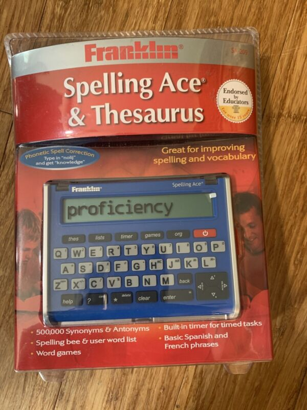 Franklin Electronic Spelling Ace SA-209, Spelling Corrector w/ Thesaurus