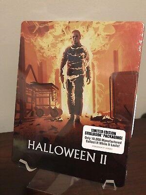 Halloween II Limited Edition Steelbook (Blu-ray/DVD, OOP) Factory Sealed - Halloween Steelbook Edition Blu Ray