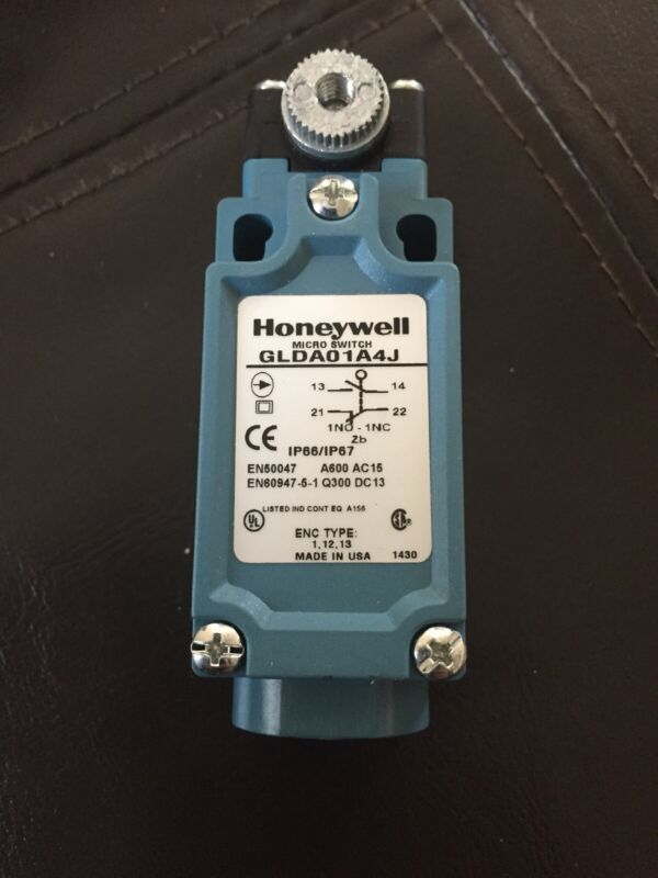HONEYWELL MICRO SWITCH, GLDA01A4J, US Brand New In Factory Packaging