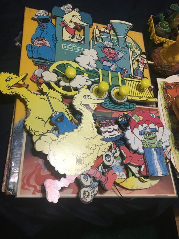 Vintage Rare Sesame Street Poster By Children's Television 1973