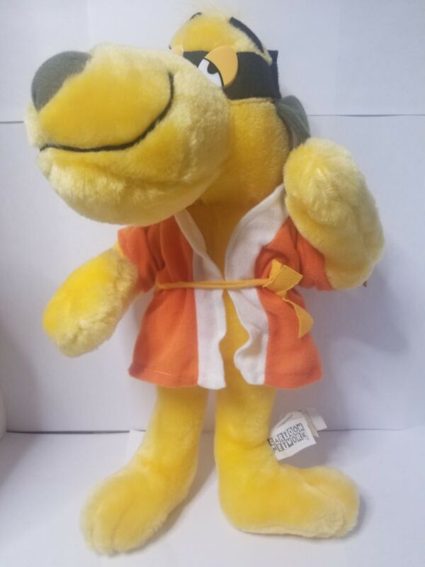 "Hong Kong Phooey Plush Dog Cartoon Network Used With Tags 14"" (h)"
