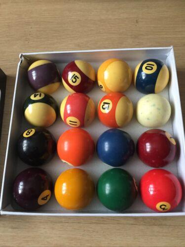 Pro pool balls set